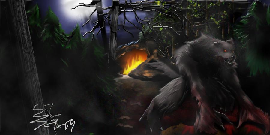 The Gaurdian Wolf by Shane-D-Solomon