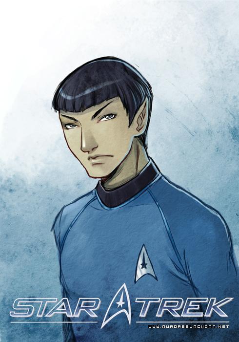 Spock by auroreblackcat