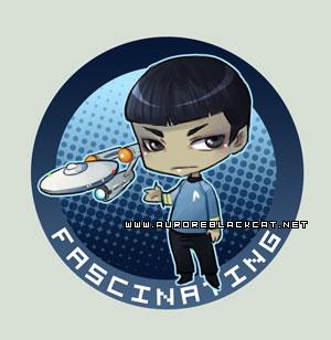 Chibi Spock by auroreblackcat
