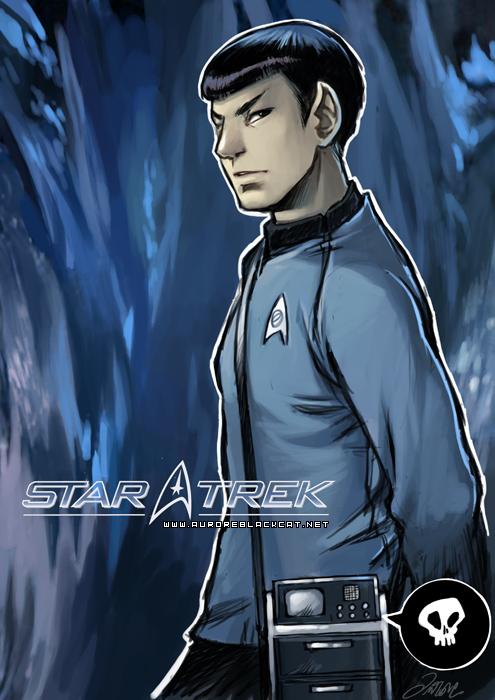 StarTrek : Spock by auroreblackcat