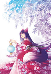 Kitsune -Myst cover- by auroreblackcat