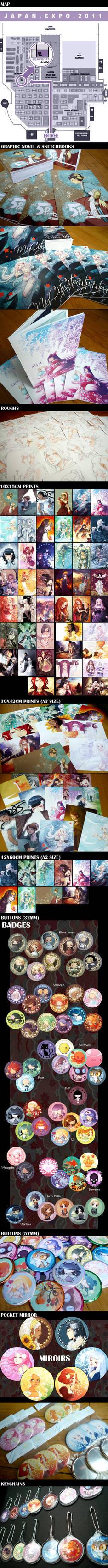 JapanExpo 2011 goodies