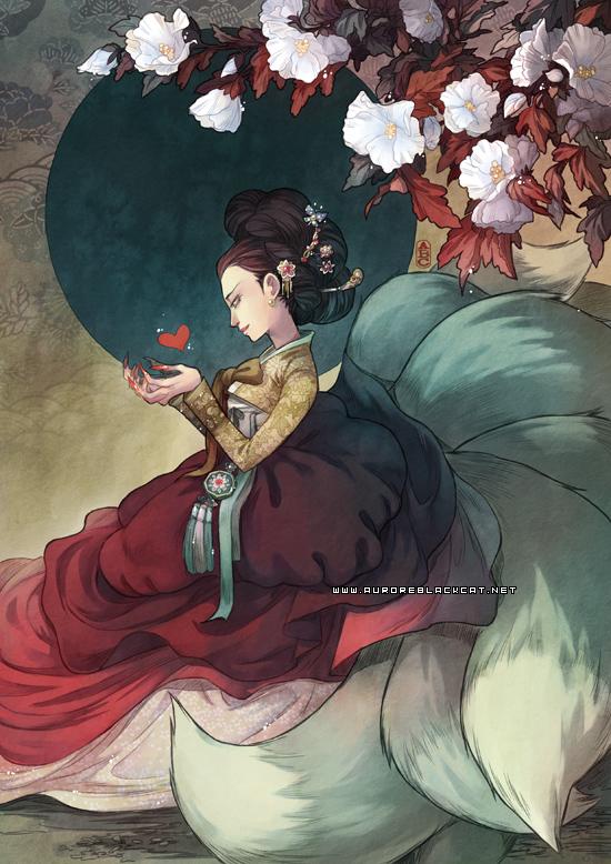 Gumiho by auroreblackcat