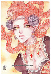Medusa -for Angilram- by auroreblackcat