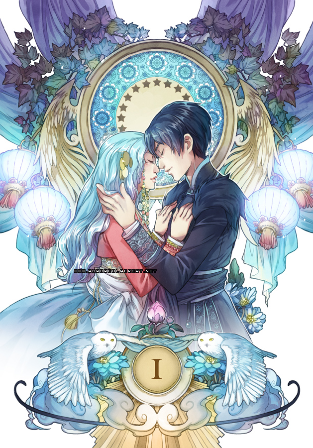 Harfang -book 1 cover- by auroreblackcat