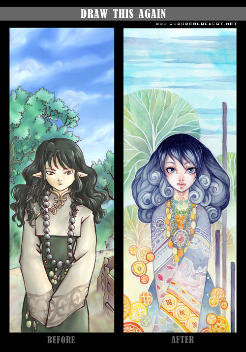 before-after meme by auroreblackcat