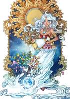 :Triumph Artbook: Gaia by auroreblackcat