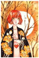 cloak -watercolors- by auroreblackcat