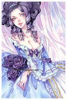 Lia -watercolors- by auroreblackcat