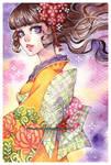 kimono -watercolors-