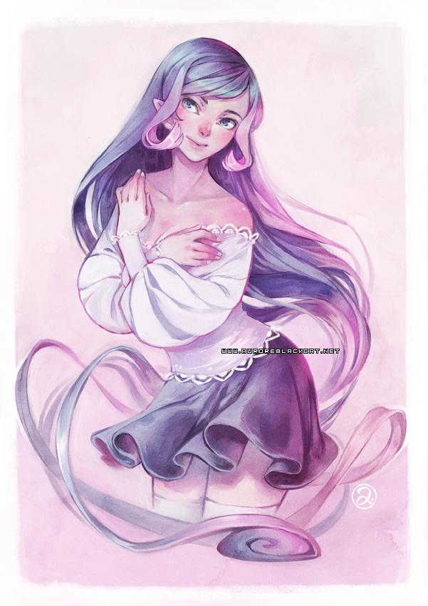 Pink by auroreblackcat
