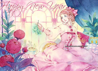Happy New Year 2016 by auroreblackcat