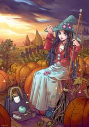 Bryony the witch by auroreblackcat