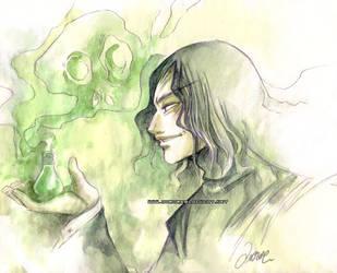 Snape by auroreblackcat