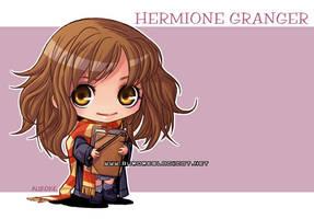 Hermione Granger by auroreblackcat