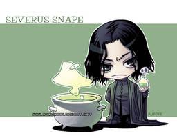 Severus Snape by auroreblackcat
