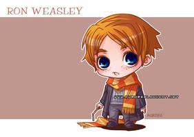Ron Weasley by auroreblackcat