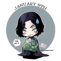 Happy Birthday Severus by auroreblackcat