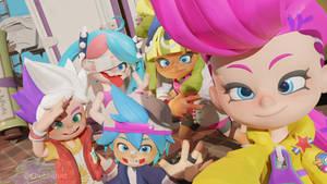 Squad Selfie