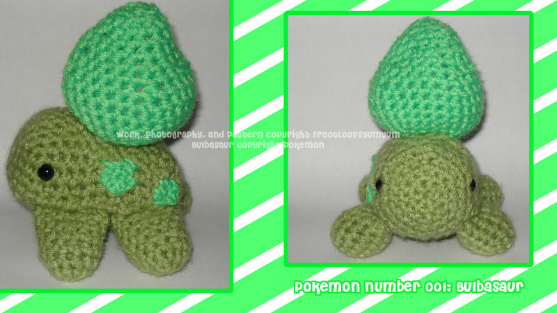 Bulbasaur Amigurumi by FrootLoopsYumYum on DeviantArt