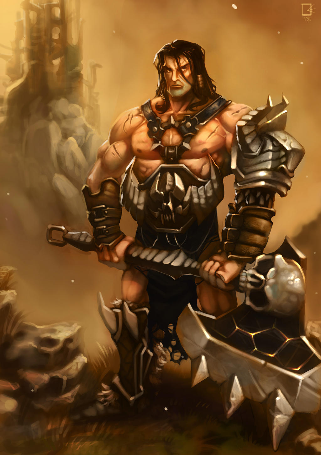 BARBARIAN by gianlucaromano