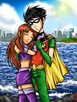 Robin and Star by kfcomics