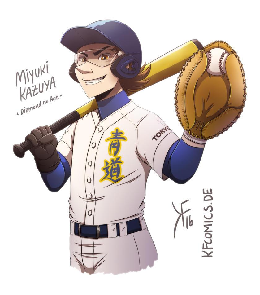 Diamond no Ace - Miyuki Kazuya by kfcomics