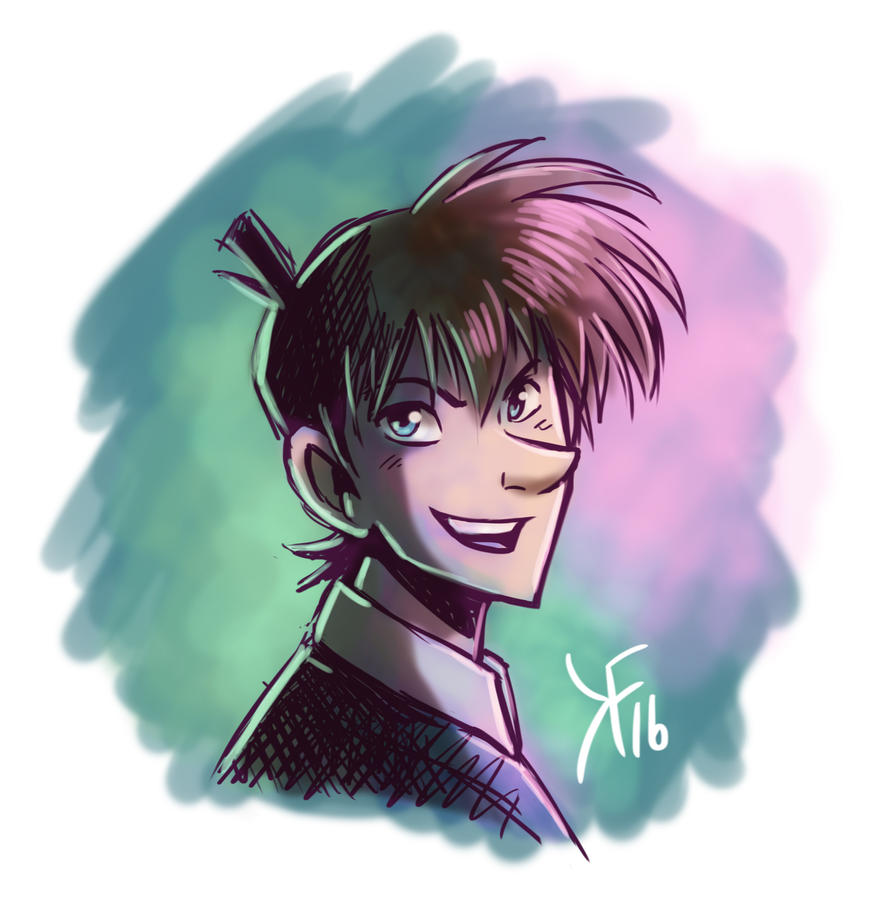 Detective Conan - Shinichi Kudo by kfcomics