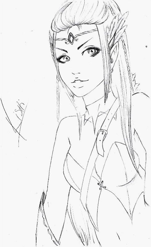 ElfGirl by KishiHana