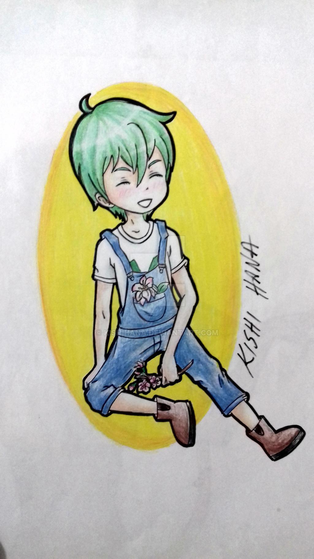 Jade Chibi by KishiHana