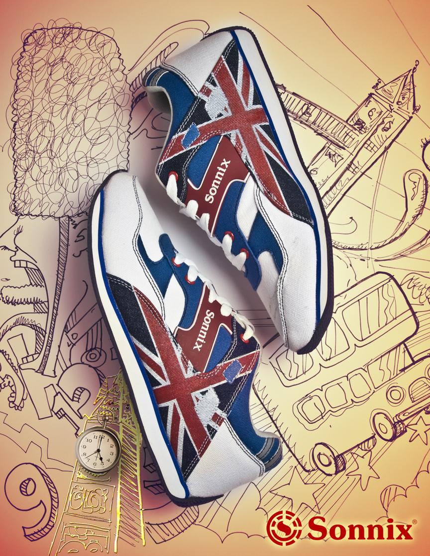 Sonnix Skate Shoes Poster ad 2 by RommelEstanislao