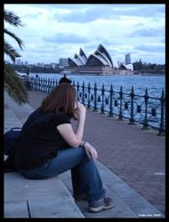 Sydney Portrait by chillinfoxie