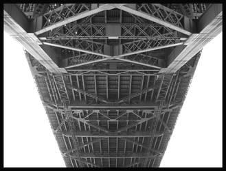 Under a bridge by chillinfoxie