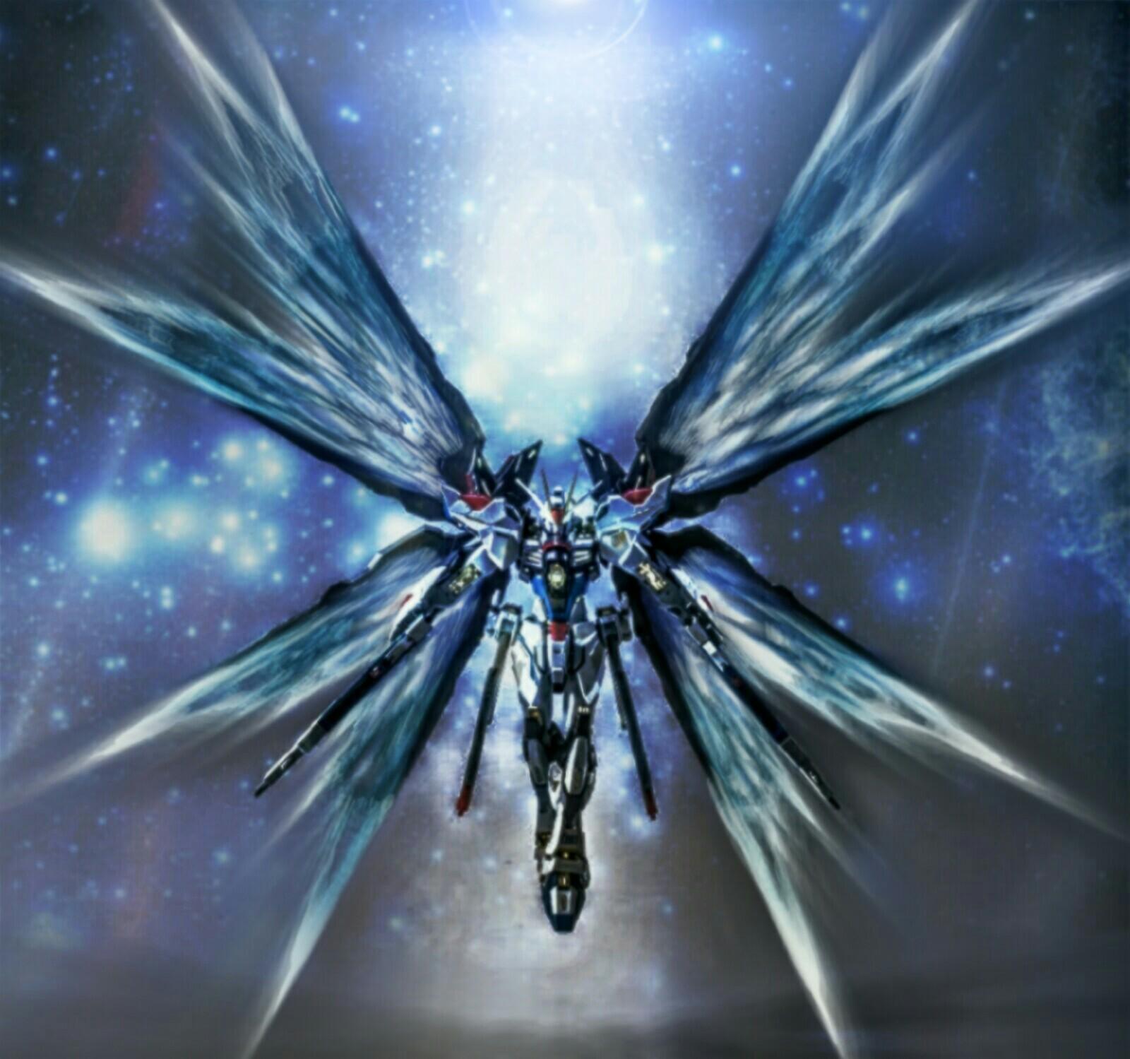 Strike Freedom Wings of Light Wallpaper by ajckh2