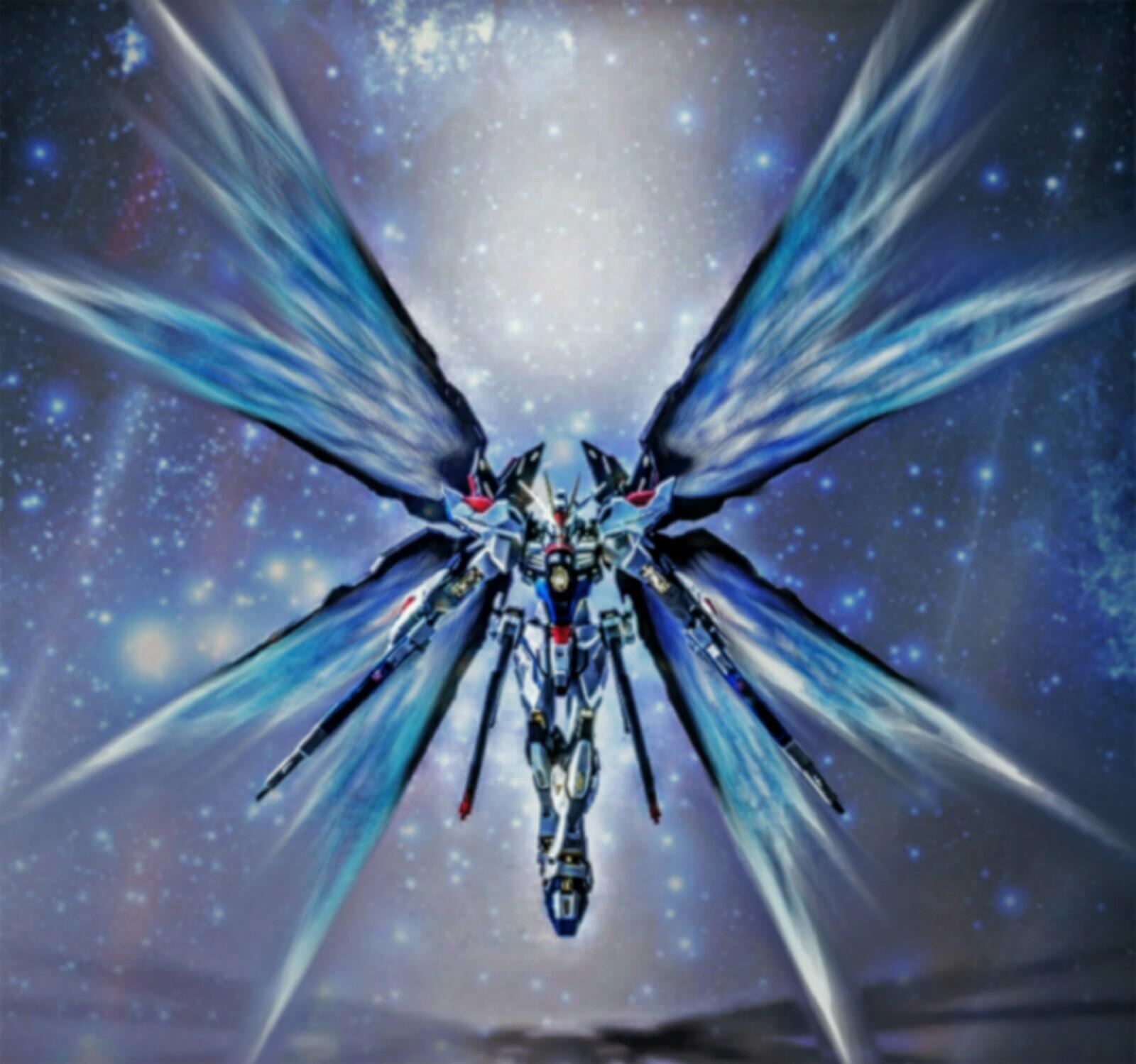 Strike Freedom Wings of Light by ajckh2 on DeviantArt