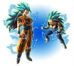 SSGSS3 Goku Vegeta