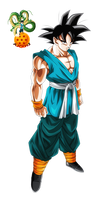 Ultimate Saiyan - Son Goku by ajckh2