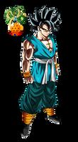 Super Saiyan God Goku - Highest Form by ajckh2