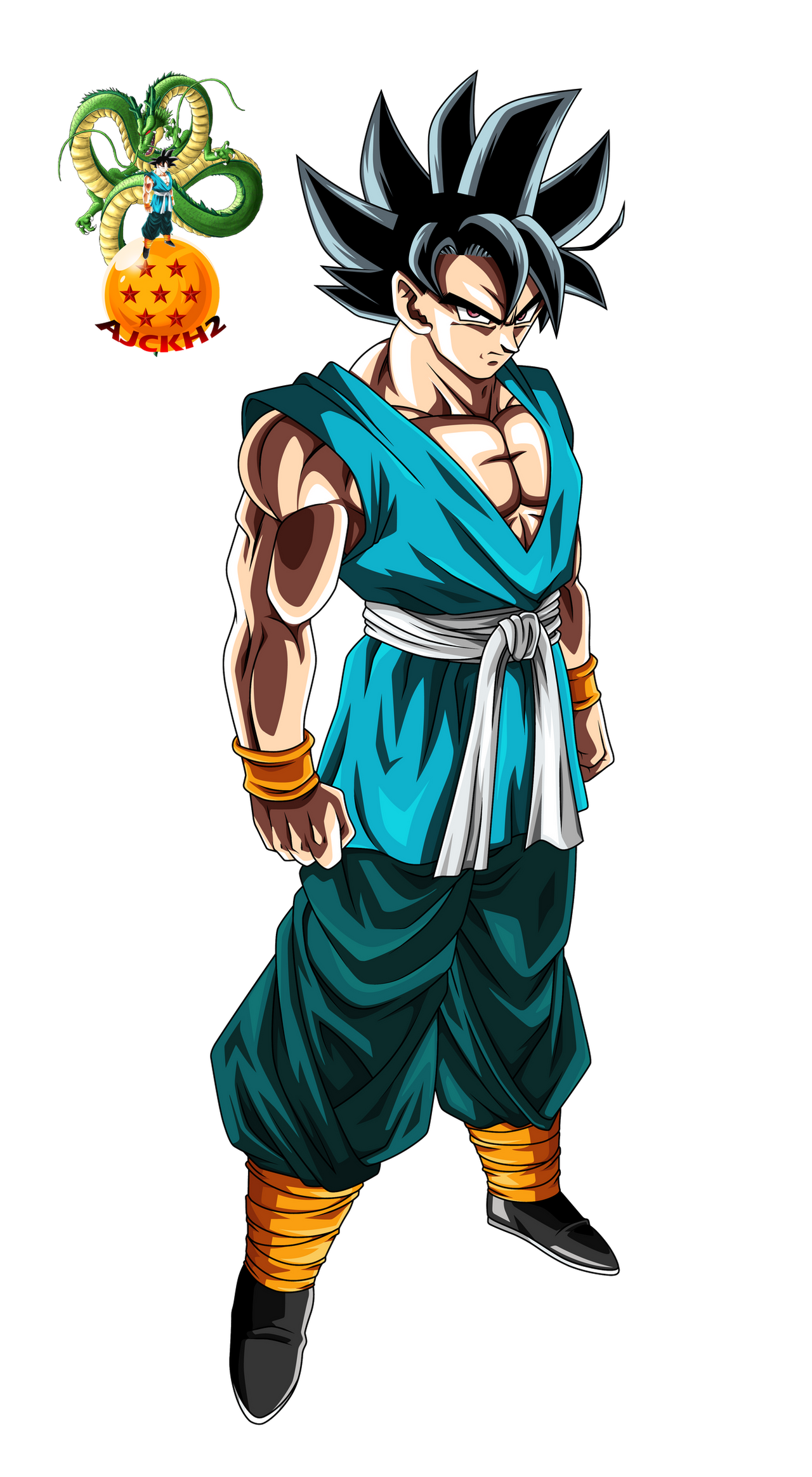 Dragon ball vector favourites by riddickdj on deviantart - Goku 5 super saiyan ...