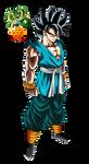 Super Saiyan God Goku - Highest Form