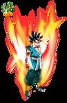 Super Saiyan God True Form - Goku