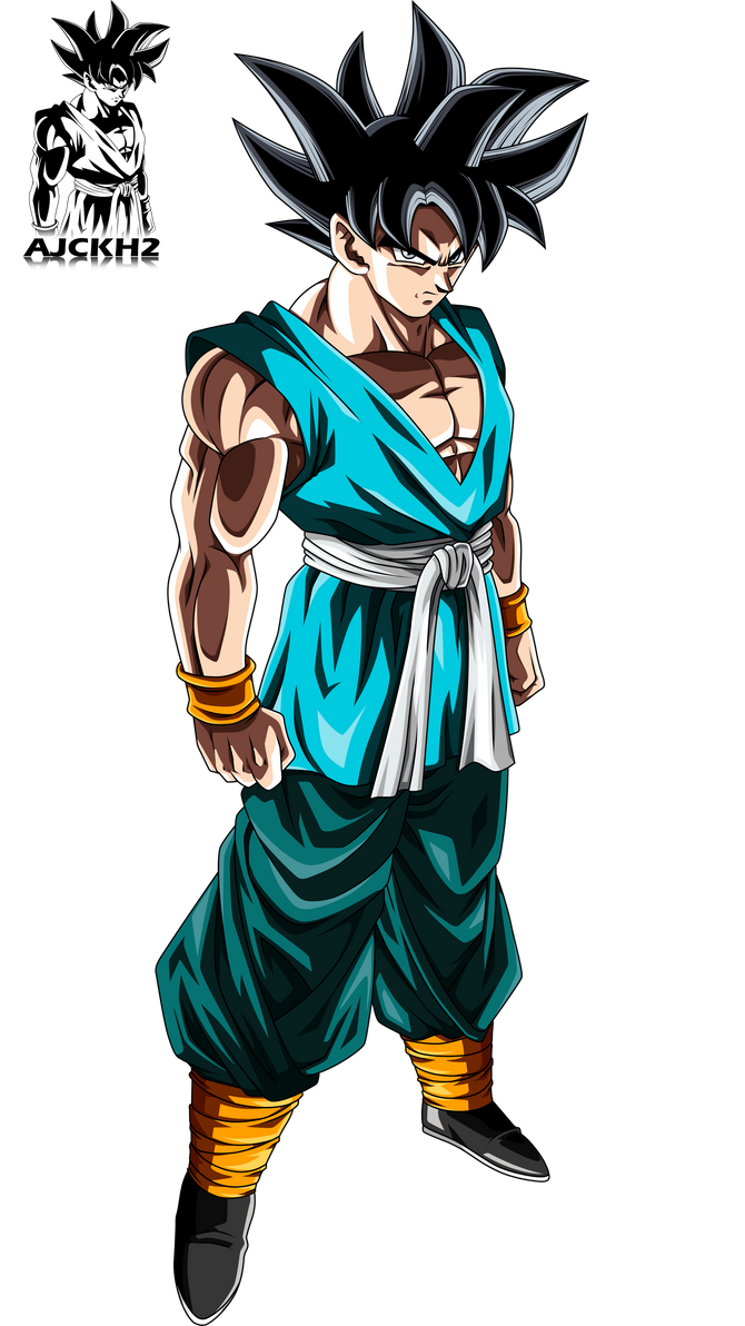 Son Goku Ultra Instinct By Ajckh2 On DeviantArt