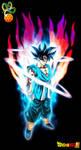 Super Saiyan God Goku True Form (w/ Aura)