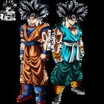 Son Goku Ultra Instinct Forms