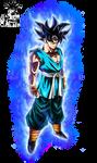 Son Goku Ultra Instinct with Aura