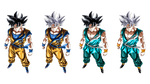 Goku Ultra Instinct Forms