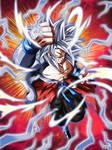Xeno Goku SSJ4 UI Dokkan Battle (Custom)
