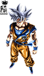 Son Goku Ultra Instinct (Remastered) by ajckh2