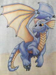 Blue by drhdragon