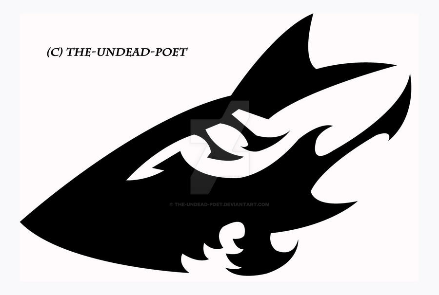 Tribal Shark Final By The Undead Poet On Deviantart